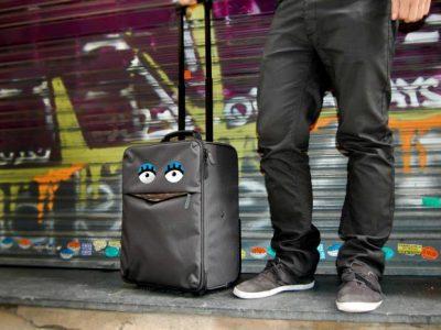 Pegatinas de ojos para personaizar tu maleta