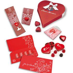 Desarrollo de múltiples campañas promocionales para San Valentín
