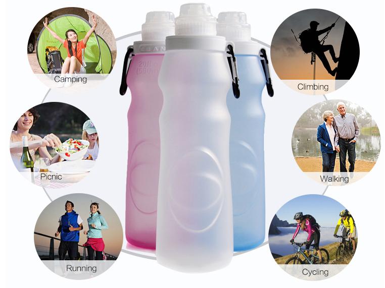 Podrás usar la Smart Bottle en cualquier situación.