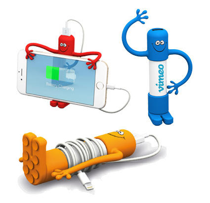 El power bank y soporte de móvil más divertido y original.