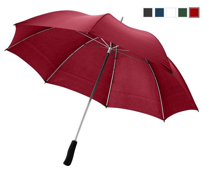 Paraguas de diseño de 130 cm con eje metálico y puño de EVA