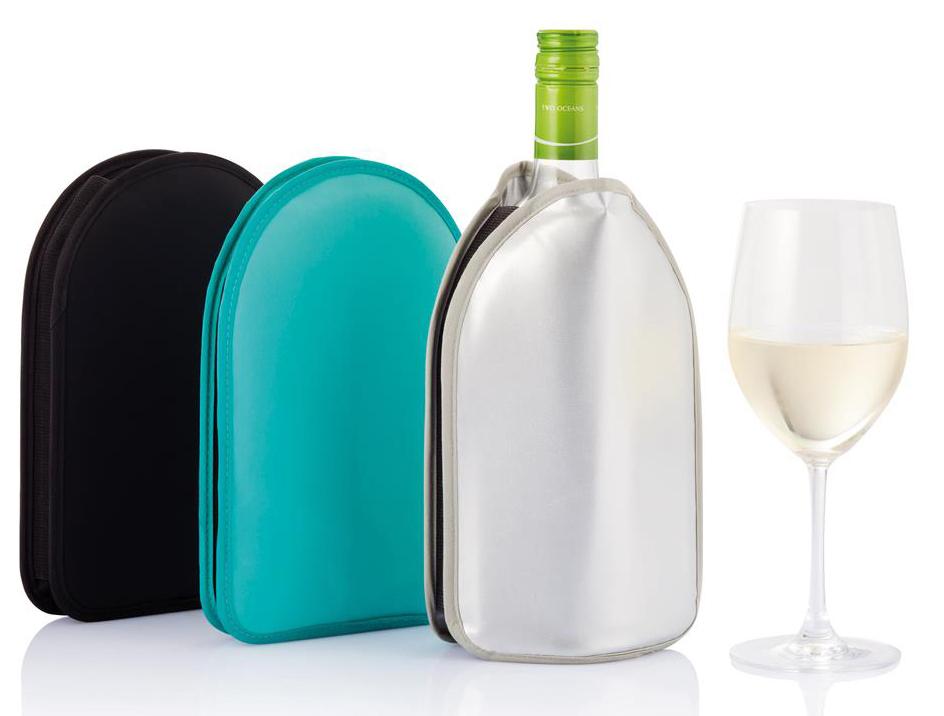 Funda de vino moderna para que el vino siempre esté a la temperatura idónea.