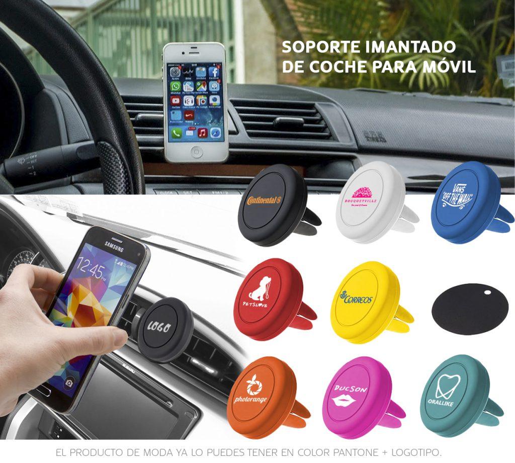El soporte de móvil para el coche para el coche que se puede hacer en cualquier color.