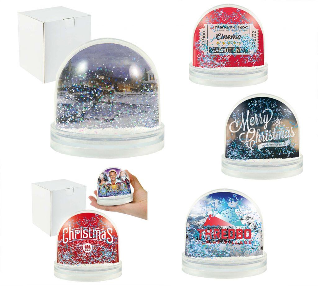 regalos originales navidad bola de nieve