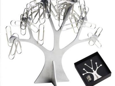 Soporte de click con forma de árbol