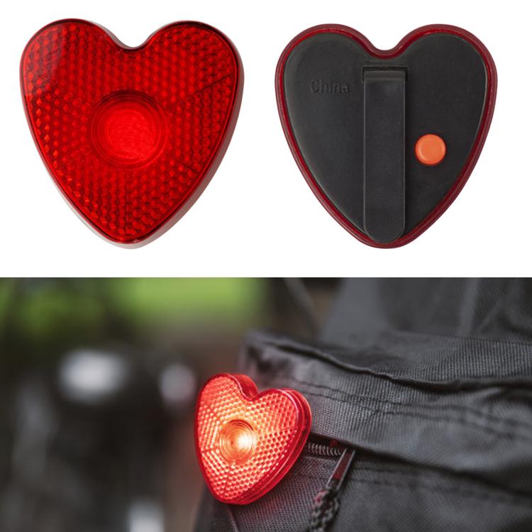 Reflector de ABS en forma de corazón
