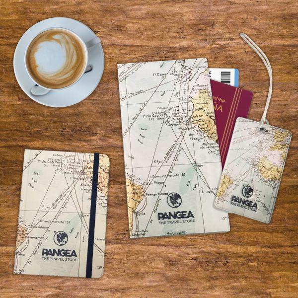 Kit Pangea con mapa del mundo