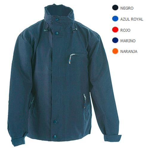 Abrigo de nylon y microfibra