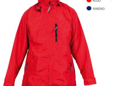 Parka Nylon roja para regalo promocional