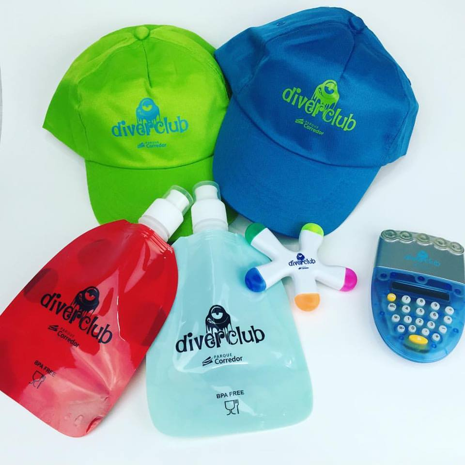 Gorras Diver club