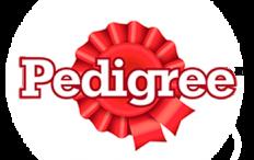 Logo marca de comida canina Pedigree