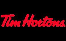 Logo Cafetería Tim Hortons