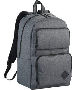 Mochila con compartimento principal con cremallera, con funda acolchada para portátil apta para la mayoría de portátiles de 15,6 y un bolsillo específico para tableta, con espacio para acceso