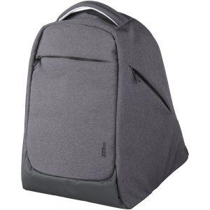 Mochila para portátil de 15 Covert security. Compartimento principal con cierre de cremallera para mantener tus pertenencias a salvo de carteristas.
