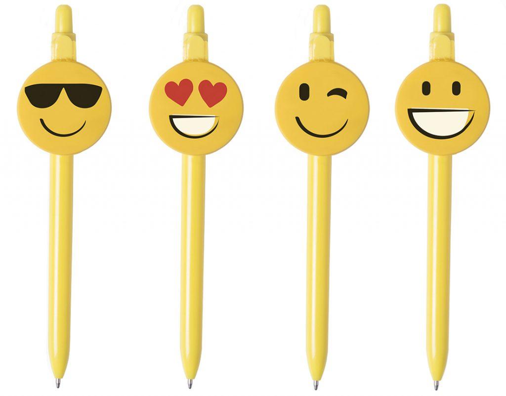 Bolígrafo con clip personalizado y 4 diseños diferentes