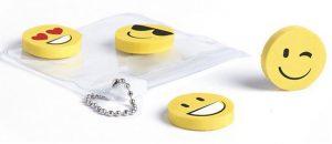 Set compuesto de 4 gomas de borrar Smile