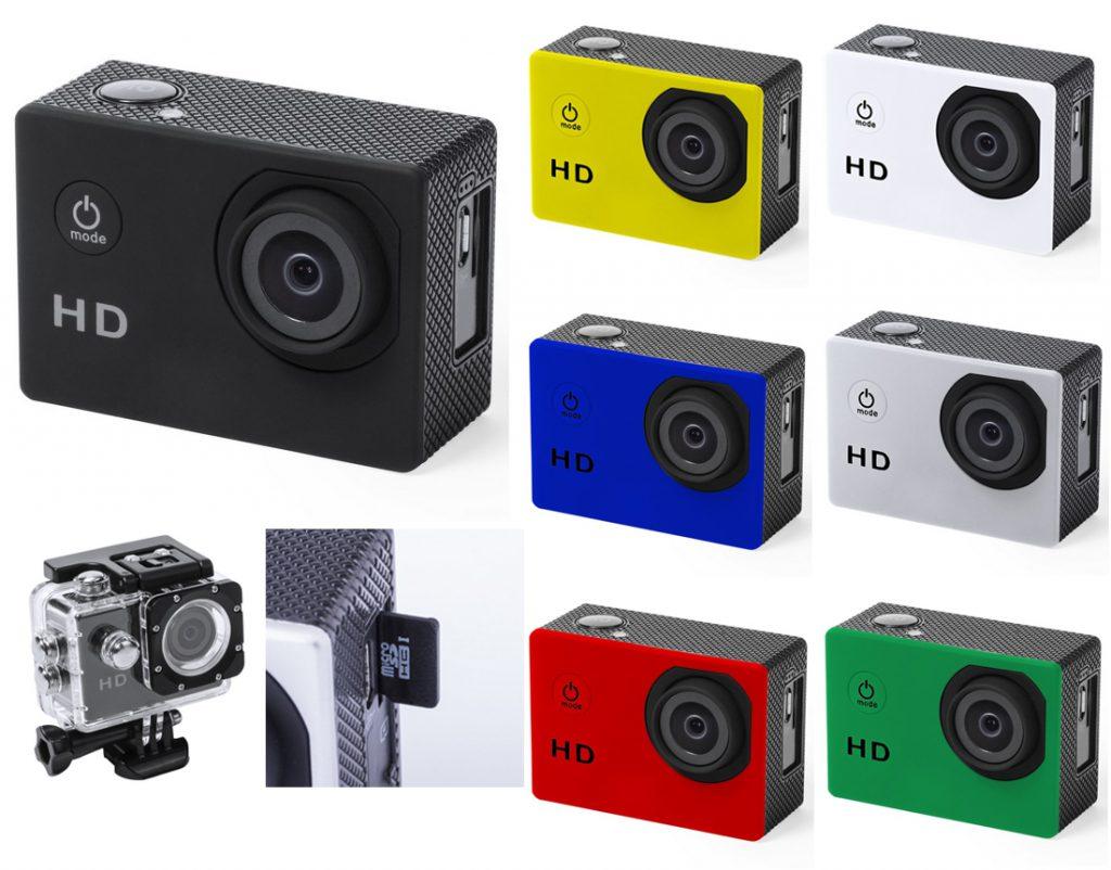 Cámara deportiva de alta calidad de captura de vídeo HD 720p personalizable