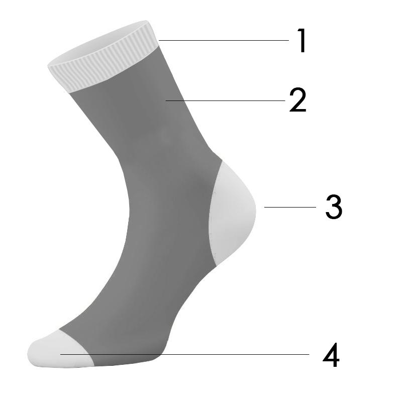 calcetines personalizados boceto merchandising