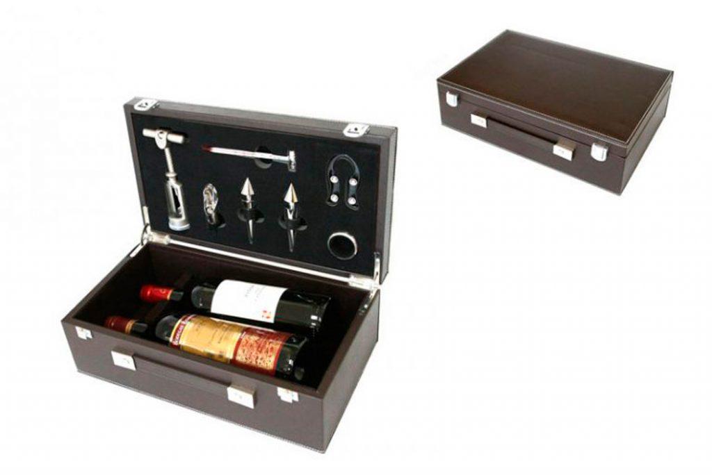 Set de vinos para regalo promocional