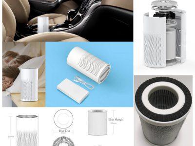 Purificador de aire para el coche