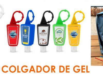 COLGADORES DE GEL SERVIMARKET