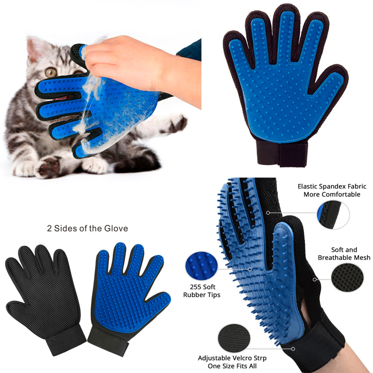 merchandising gato guante peine